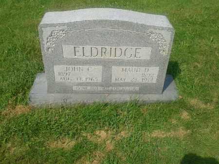 ELDRIDGE, MAUD D - Rowan County, Kentucky   MAUD D ELDRIDGE - Kentucky Gravestone Photos