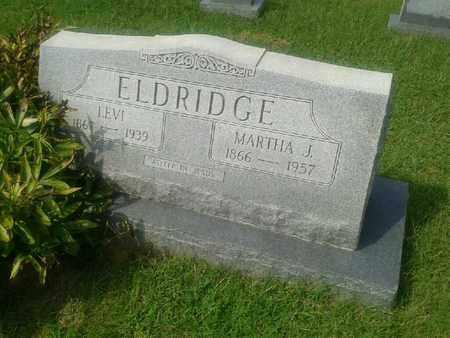 ELDRIDGE, MARTHA J - Rowan County, Kentucky | MARTHA J ELDRIDGE - Kentucky Gravestone Photos