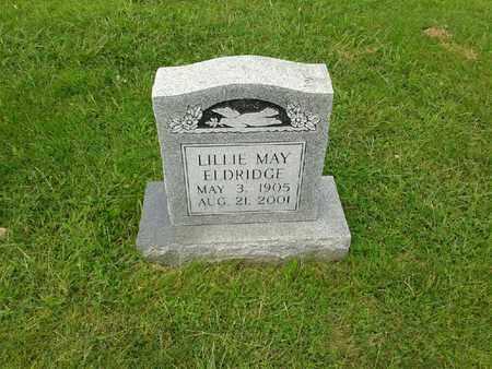 ELDRIDGE, LILLIE MAY - Rowan County, Kentucky | LILLIE MAY ELDRIDGE - Kentucky Gravestone Photos