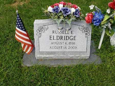ELDRIDGE, RUSSELL E - Rowan County, Kentucky | RUSSELL E ELDRIDGE - Kentucky Gravestone Photos