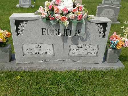 ELDRIDGE, AMANDA - Rowan County, Kentucky | AMANDA ELDRIDGE - Kentucky Gravestone Photos