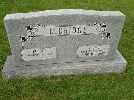 ELDRIDGE, VERNA - Rowan County, Kentucky | VERNA ELDRIDGE - Kentucky Gravestone Photos