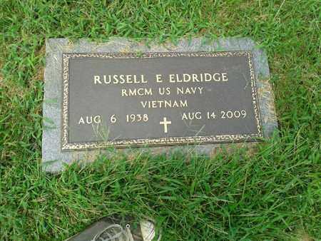 ELDRIDGE (VETERAN VIET), RUSSELL E - Rowan County, Kentucky | RUSSELL E ELDRIDGE (VETERAN VIET) - Kentucky Gravestone Photos