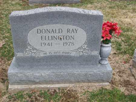 ELLINGTON, DONALD RAY - Rowan County, Kentucky | DONALD RAY ELLINGTON - Kentucky Gravestone Photos