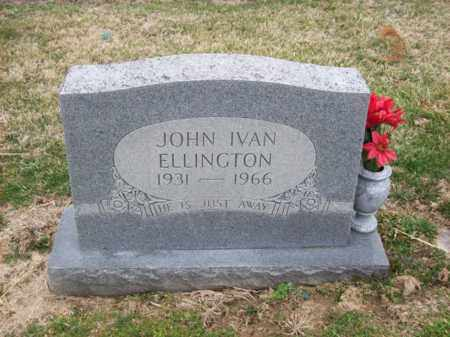 ELLINGTON, JOHN IVAN - Rowan County, Kentucky | JOHN IVAN ELLINGTON - Kentucky Gravestone Photos