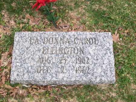 ELLINGTON, LA DONNA CAROL - Rowan County, Kentucky | LA DONNA CAROL ELLINGTON - Kentucky Gravestone Photos