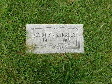 FRALEY, CAROLYN S - Rowan County, Kentucky | CAROLYN S FRALEY - Kentucky Gravestone Photos
