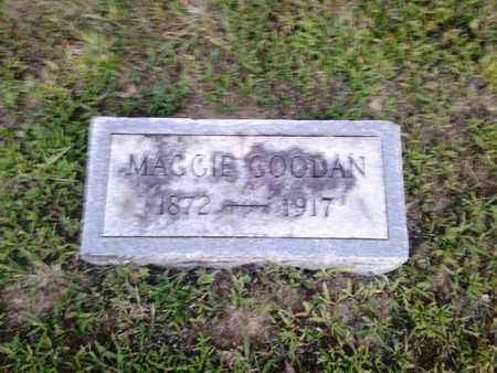 GOODAN, MAGGIE - Rowan County, Kentucky   MAGGIE GOODAN - Kentucky Gravestone Photos