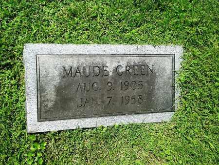 GREEN, MAUDE - Rowan County, Kentucky | MAUDE GREEN - Kentucky Gravestone Photos