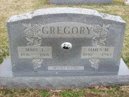 GREGORY, MARY T - Rowan County, Kentucky | MARY T GREGORY - Kentucky Gravestone Photos