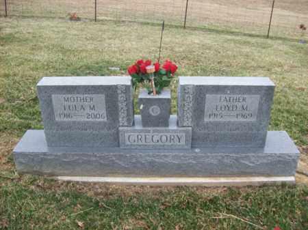 GREGORY, LOYD M - Rowan County, Kentucky | LOYD M GREGORY - Kentucky Gravestone Photos