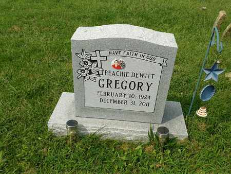 GREGORY, PEACHIE - Rowan County, Kentucky | PEACHIE GREGORY - Kentucky Gravestone Photos