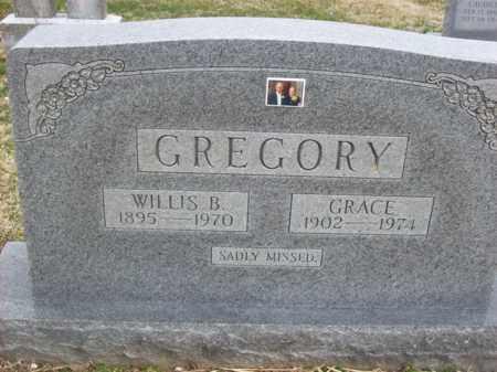 GREGORY, WILLIS B - Rowan County, Kentucky | WILLIS B GREGORY - Kentucky Gravestone Photos