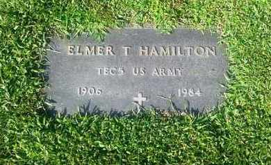 HAMILTON (VETERAN), ELMER T - Rowan County, Kentucky | ELMER T HAMILTON (VETERAN) - Kentucky Gravestone Photos