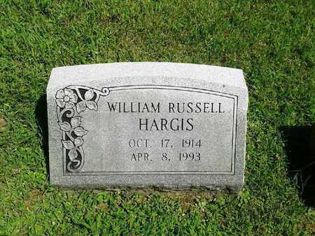 HARGIS, WILLIAM RUSSELL - Rowan County, Kentucky   WILLIAM RUSSELL HARGIS - Kentucky Gravestone Photos