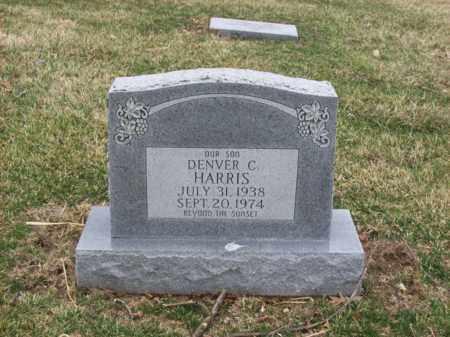 HARRIS, DENVER C - Rowan County, Kentucky   DENVER C HARRIS - Kentucky Gravestone Photos