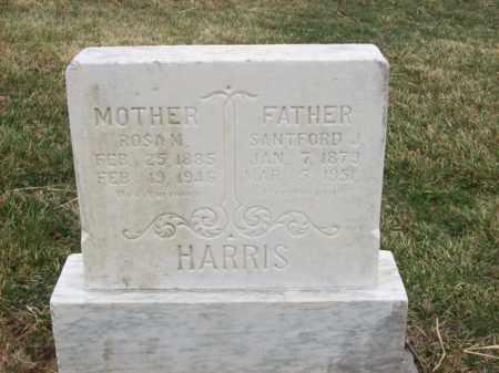 HARRIS, SANTFORD J - Rowan County, Kentucky   SANTFORD J HARRIS - Kentucky Gravestone Photos