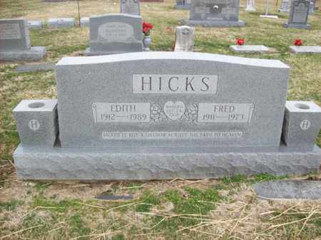 HICKS, FRED - Rowan County, Kentucky | FRED HICKS - Kentucky Gravestone Photos