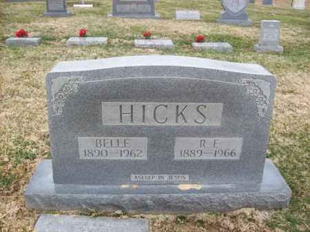 HICKS, BELLE - Rowan County, Kentucky | BELLE HICKS - Kentucky Gravestone Photos