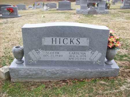 HICKS, GARDENIA - Rowan County, Kentucky | GARDENIA HICKS - Kentucky Gravestone Photos