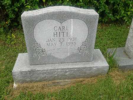 HITE, CARL - Rowan County, Kentucky   CARL HITE - Kentucky Gravestone Photos