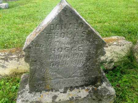 HOGGE, DONALD THOMAS - Rowan County, Kentucky | DONALD THOMAS HOGGE - Kentucky Gravestone Photos