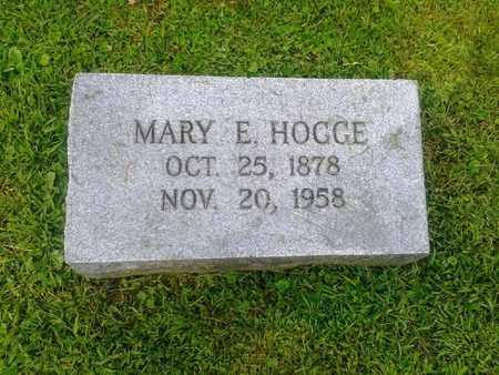 HOGGE, MARY E - Rowan County, Kentucky | MARY E HOGGE - Kentucky Gravestone Photos