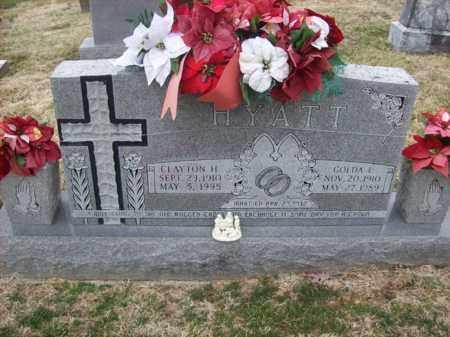 HYATT, GOLDA E - Rowan County, Kentucky | GOLDA E HYATT - Kentucky Gravestone Photos