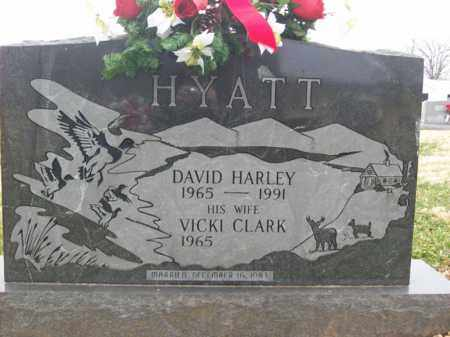 HYATT, DAVID HARLEY - Rowan County, Kentucky | DAVID HARLEY HYATT - Kentucky Gravestone Photos