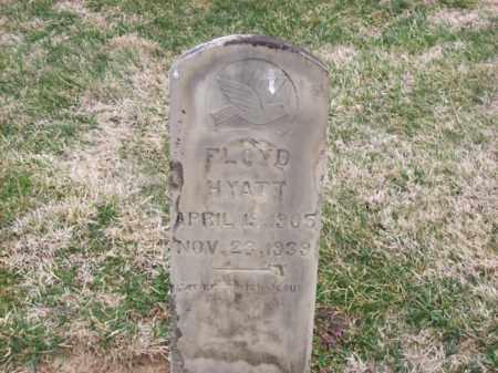 HYATT, FLOYD - Rowan County, Kentucky   FLOYD HYATT - Kentucky Gravestone Photos