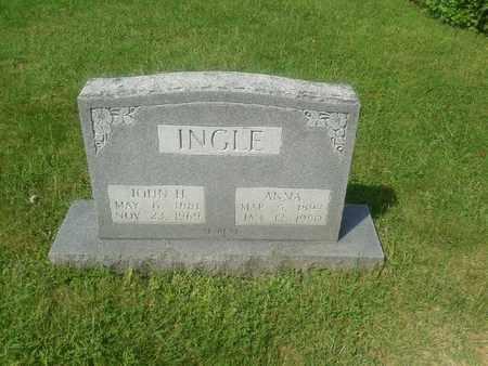 INGLE, JOHN HENRY - Rowan County, Kentucky | JOHN HENRY INGLE - Kentucky Gravestone Photos