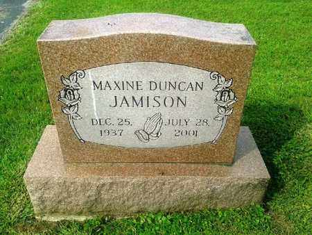 DUNCAN JAMISON, MAXINE - Rowan County, Kentucky | MAXINE DUNCAN JAMISON - Kentucky Gravestone Photos