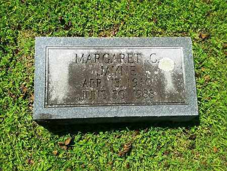 JAYNE, MARGARET C - Rowan County, Kentucky | MARGARET C JAYNE - Kentucky Gravestone Photos