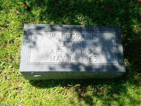 JAYNE, W. LEGRAND - Rowan County, Kentucky   W. LEGRAND JAYNE - Kentucky Gravestone Photos