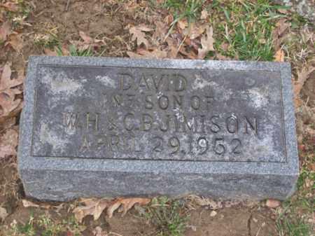 JIMISON, DAVID - Rowan County, Kentucky | DAVID JIMISON - Kentucky Gravestone Photos