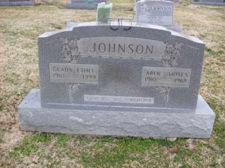 JOHNSON, GLADA ETHEL - Rowan County, Kentucky | GLADA ETHEL JOHNSON - Kentucky Gravestone Photos