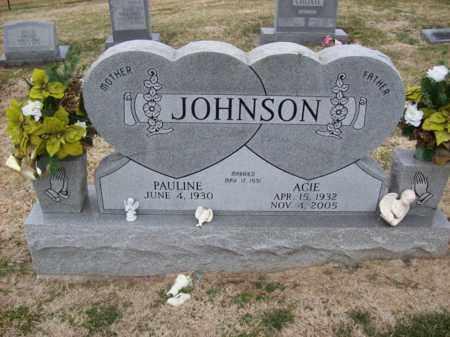 JOHNSON, ACIE - Rowan County, Kentucky | ACIE JOHNSON - Kentucky Gravestone Photos