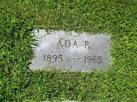 JOHNSON, ADA P - Rowan County, Kentucky | ADA P JOHNSON - Kentucky Gravestone Photos