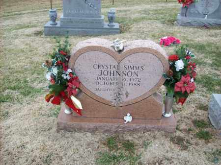 JOHNSON, CRYSTAL SIMMS - Rowan County, Kentucky | CRYSTAL SIMMS JOHNSON - Kentucky Gravestone Photos