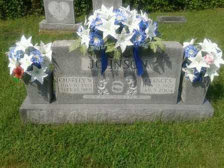 JOHNSON, CHARLEY W - Rowan County, Kentucky | CHARLEY W JOHNSON - Kentucky Gravestone Photos