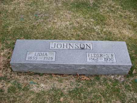 JOHNSON, ELDER S P - Rowan County, Kentucky | ELDER S P JOHNSON - Kentucky Gravestone Photos