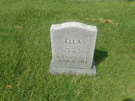 JOHNSON, ELLA - Rowan County, Kentucky | ELLA JOHNSON - Kentucky Gravestone Photos