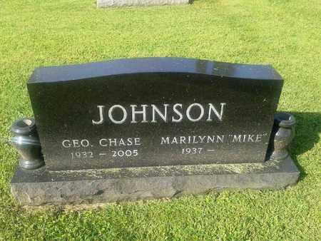 JOHNSON, GEO. CHASE - Rowan County, Kentucky | GEO. CHASE JOHNSON - Kentucky Gravestone Photos