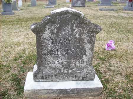 JOHNSON, MARY J - Rowan County, Kentucky   MARY J JOHNSON - Kentucky Gravestone Photos
