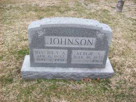 JOHNSON, VERGIE S - Rowan County, Kentucky | VERGIE S JOHNSON - Kentucky Gravestone Photos