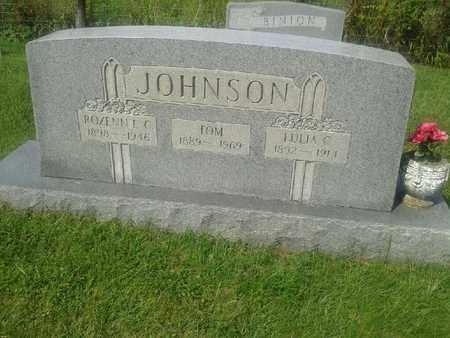 JOHNSON, LULIA C - Rowan County, Kentucky | LULIA C JOHNSON - Kentucky Gravestone Photos