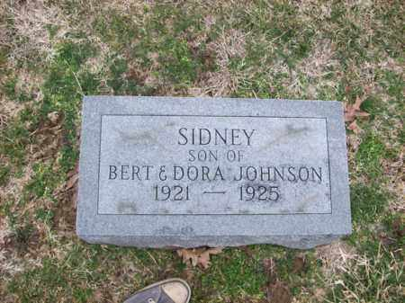 JOHNSON, SIDNEY - Rowan County, Kentucky | SIDNEY JOHNSON - Kentucky Gravestone Photos