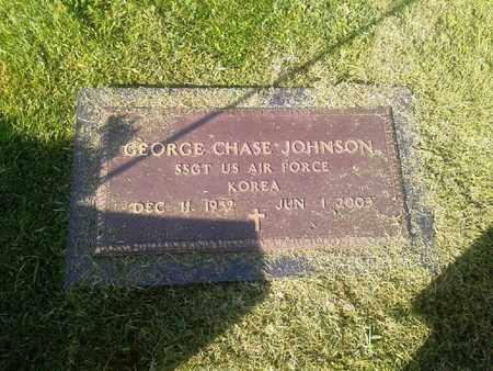 JOHNSON (VETERAN KOR), GEORGE CHASE - Rowan County, Kentucky | GEORGE CHASE JOHNSON (VETERAN KOR) - Kentucky Gravestone Photos