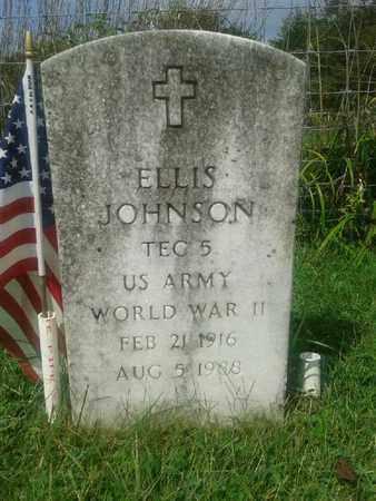 JOHNSON (VETERAN WWII), ELLIS - Rowan County, Kentucky | ELLIS JOHNSON (VETERAN WWII) - Kentucky Gravestone Photos