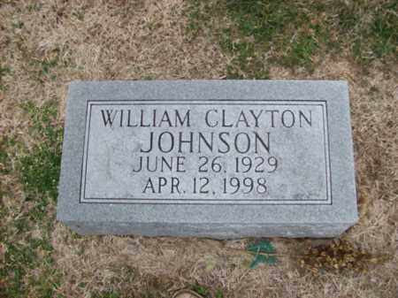 JOHNSON, WILLIAM CLAYTON - Rowan County, Kentucky | WILLIAM CLAYTON JOHNSON - Kentucky Gravestone Photos